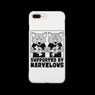 MIWA姐のmarvelousと秋田犬 Smartphone cases