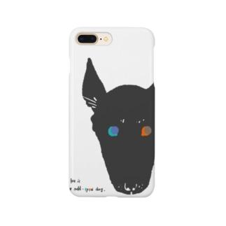 odd-eyed dog Smartphone Case