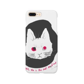odd-eyed cat Smartphone cases