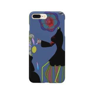 あたまおもいおはな Smartphone cases