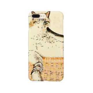 トラ猫マーブル Smartphone cases