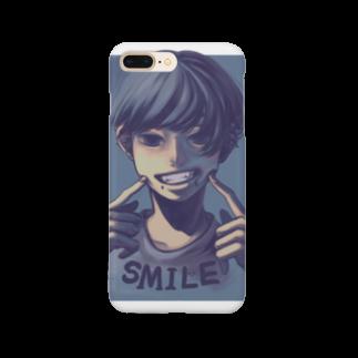 フユビのsmile Smartphone cases
