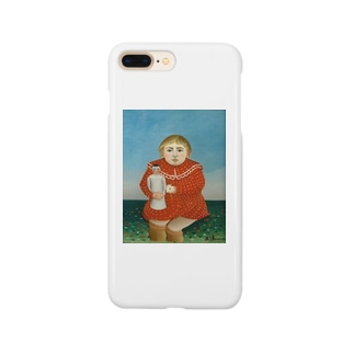 child with a doll Smartphone cases