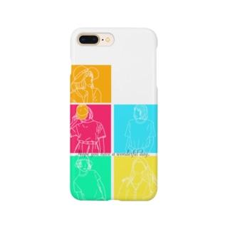 サマーガールズ Smartphone cases