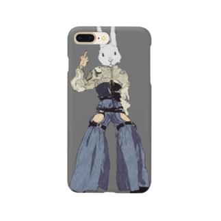 ファッショナブルうさぎ野郎 Smartphone cases