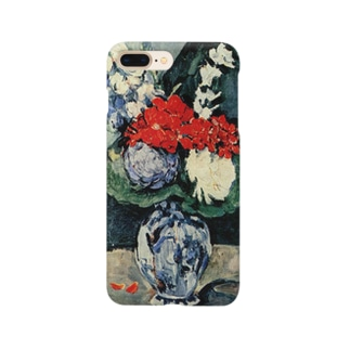 ポール・セザンヌ / 1874 /Still life, Delft vase with flowers / Paul Cezanne Smartphone cases