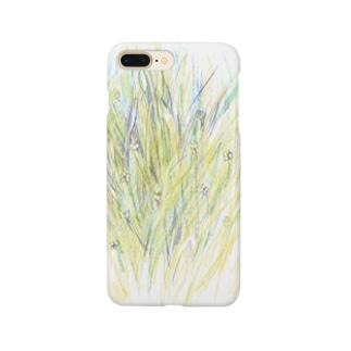 草をじっと Smartphone cases