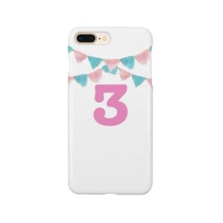 ニットガーランド3 Smartphone cases