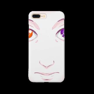 川村マユ見のマユツバ少女 Smartphone cases