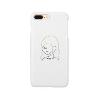 """"""" Always me """" Girl Smartphone cases"""
