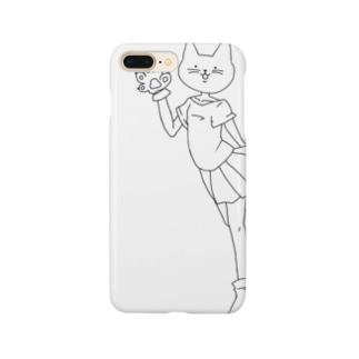 ねこ…? Smartphone cases