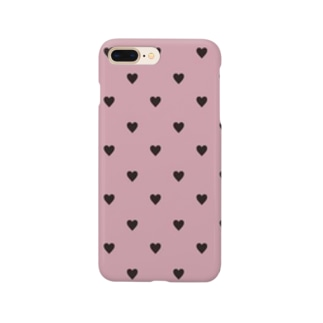 dot heart Smartphone cases