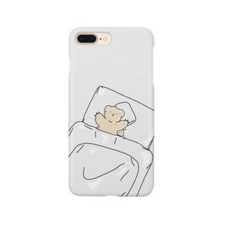 おやすみくまさん Smartphone cases