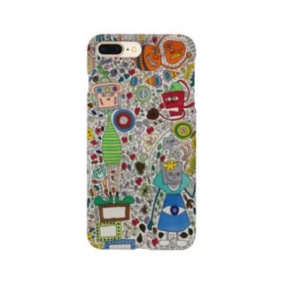 念力②iPhoneケース Smartphone cases