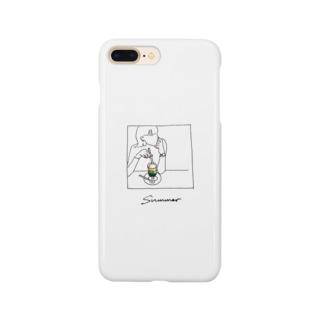 めろんそーだ Smartphone cases
