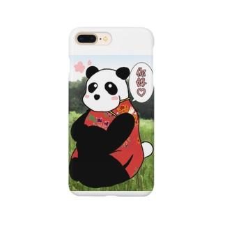 你好ぱんだ Smartphone cases