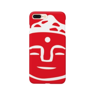 red daibutsu 紅白大仏 Smartphone cases