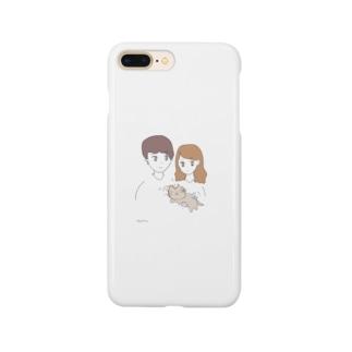 ねことかっぷる Smartphone cases