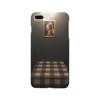 夜喫茶店内 Smartphone cases