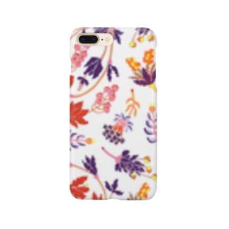 架空植物Ⅱ_white Smartphone cases