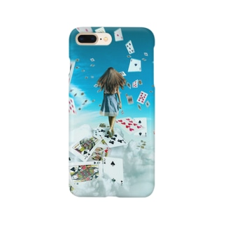 Alice walking in the sky Smartphone cases