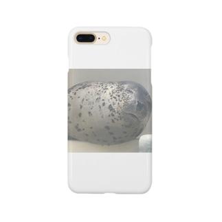 アザラシさんの睡眠 Smartphone cases
