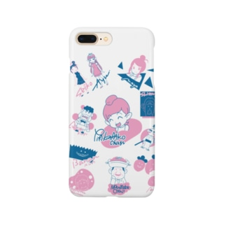ニコニコ生放送記念期間限定デザイン~A柄~ Smartphone cases