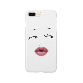 物憂げ Smartphone cases