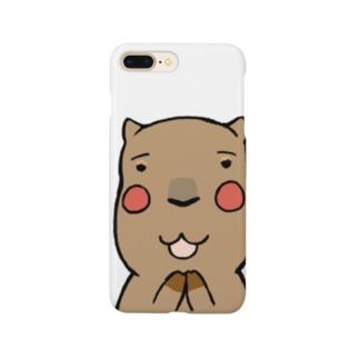 すきすきカピバラ Smartphone cases