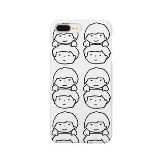 つよき女の子とやさしい男の子たくさん Smartphone cases