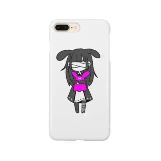 よわよわうさぎ よわよわちゃん Smartphone cases