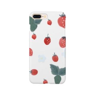 いちごさん Smartphone cases