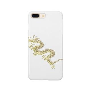 昇り龍(黄金) Smartphone cases