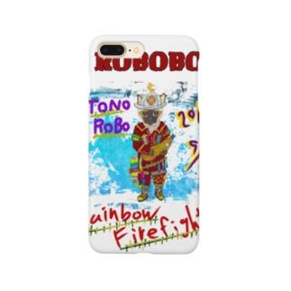 ROBOBO🤖「トノロボ」 Smartphone cases