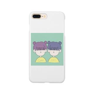 ふたご座の女の子 Smartphone cases