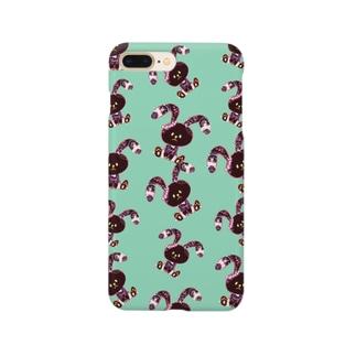 チョコタピ×ミント Smartphone cases