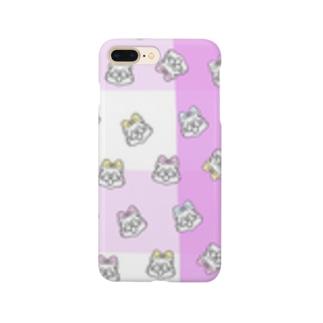 ニャース3姉妹 Smartphone cases