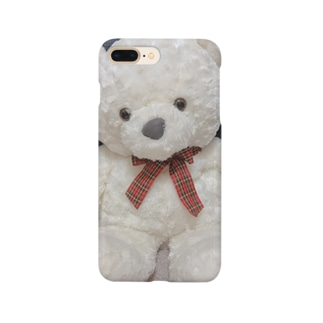 シロクマさん Smartphone cases