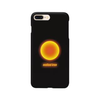 #9「溶けた鉄」~川口市~ Smartphone cases