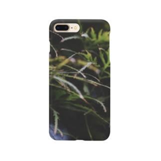 草の匂い Smartphone cases