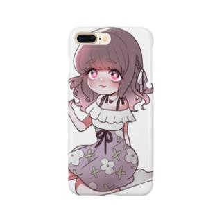 ガーリー女子 Smartphone cases