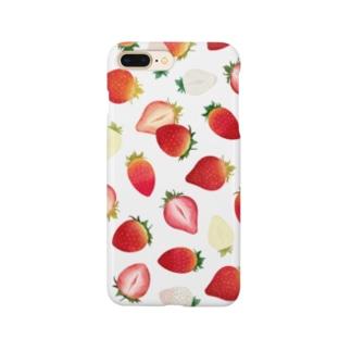 いちごづくし Smartphone cases