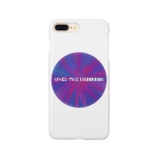 時空の歪み Smartphone cases