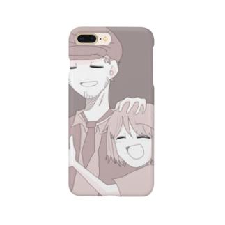 泥庭幸せiPhoneケース Smartphone cases