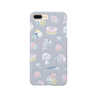 ねことお菓子 Smartphone cases