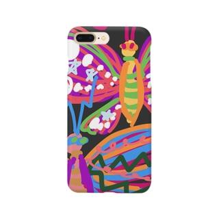 夜の蝶になるの Smartphone cases
