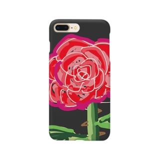 華麗なるバラ Smartphone cases