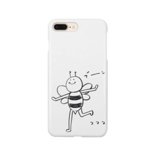 ぶーん としてるハチ Smartphone cases