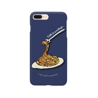 おしゃべりは逃げ道 Smartphone cases