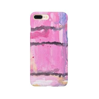 ピンク Smartphone cases